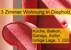 Etagenwohnung in Diepholz  - Diepholz