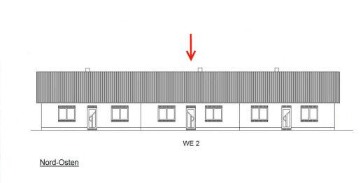 Reihenmittelhaus in Uplengen  - Südgeorgsfehn