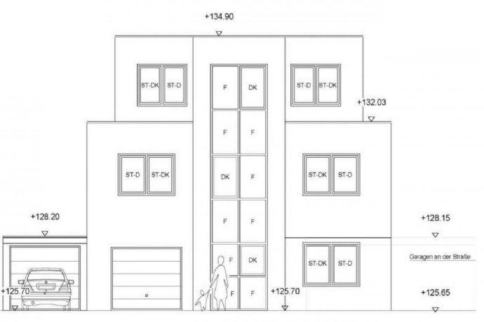 Neubau eines Mehrfamilienhauses in 57223 Kreuztal