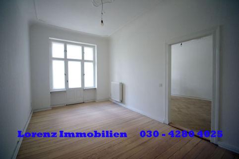 Mitten in Niederschönhausen 2-Zimmer-WE mit Balkon und Parkett/Dielen