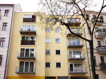 Kleine Wohnung mit großem Balkon