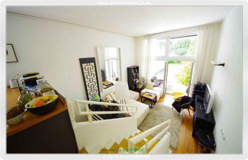 Exklusive 3-Zimmer-Garten-Maisonette mit Split-Ebenen - vis à vis vom Park!