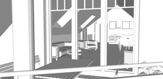 Dachgeschosswohnung in Büchen