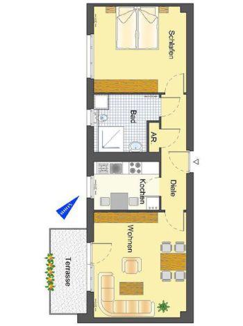 Wohnung in Köln  - Westhoven