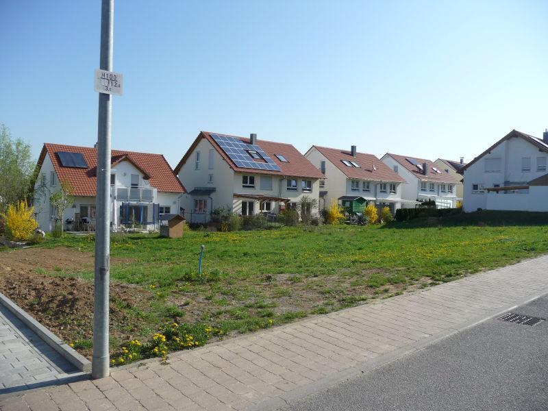 Familienfreundlicher Bauplatz Schwieberdingen - Grundst�ck mieten - Bild 1