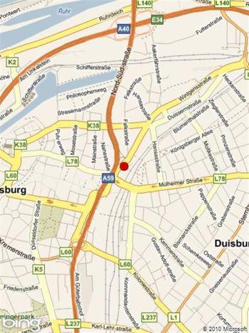 Stellplatz in Duisburg  - Duissern