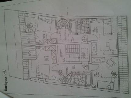Schöne 3-Zimmerwohnung über zwei Ebene in zentraler Lage