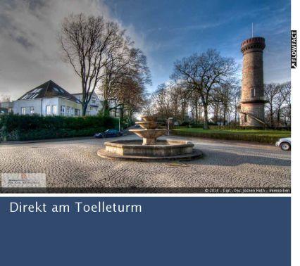 Komfort - Eigentumswohnung im 1.OG, direkt am Toelleturm (vermietet)