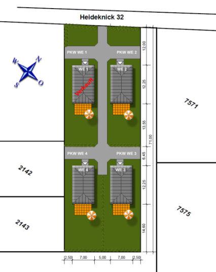 Traumlage Sasel - 4 EFH-Bauplätze in ruhiger Wohnstraße - planen Sie...