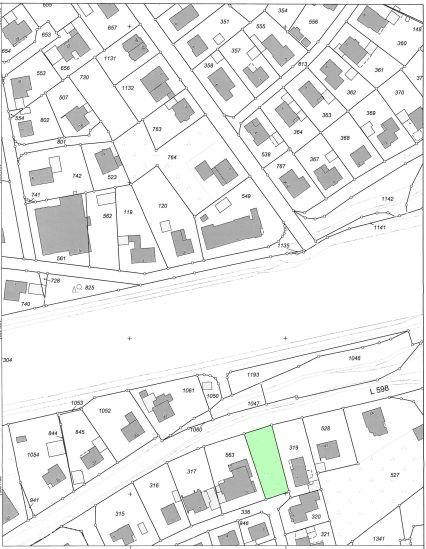 Baulücke in Steinbeck