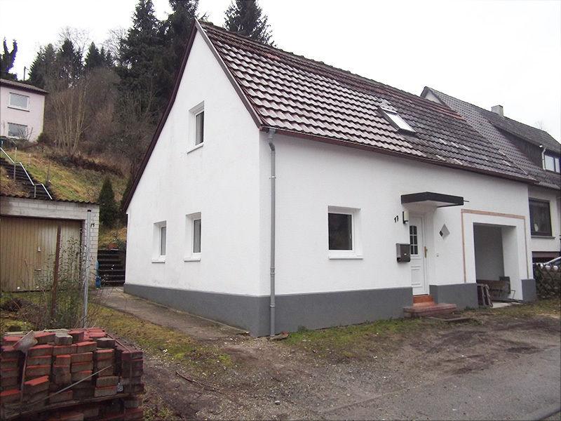 Kleines gem�tliches Einfamilienhaus W�rmed�mmung Dach Mietkauf 505 - Haus mieten - Bild 1