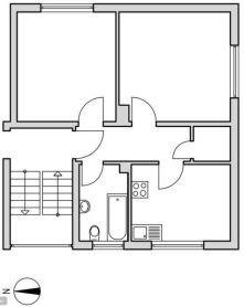 Etagenwohnung in Höxter  - Höxter
