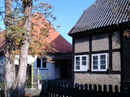 Burg auf Fehmarn, Hist.Ackerbürgerhaus mit Fachwerk Scheune, Innenhof...