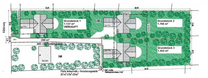 2 Grundst�cke Adendorfs exklusivster Lage - Grundst�ck kaufen - Bild 1