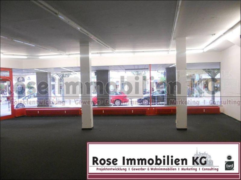 ROSE IMMOBILIEN KG Ladenlokal 537m� Verkaufsfl�che City Minden - Gewerbeimmobilie mieten - Bild 1