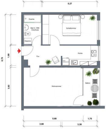 Wohnung in Steinbach