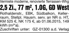 Wohnung in Schwäbisch Gmünd  - Schwäbisch Gmünd
