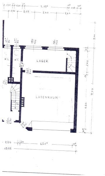 Einzelhandel B�ro Praxis vermieten EG Keller - Gewerbeimmobilie mieten - Bild 1