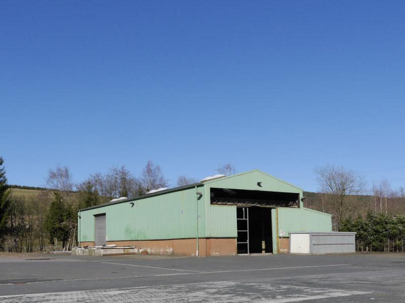 8 000 m� GEWERBEGRUNDST�CK MIT HALLE WILNSDORF ANZHAUSEN - Grundst�ck mieten - Bild 1