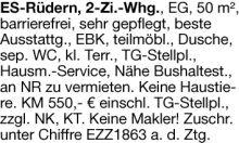 Wohnung in Esslingen  - Hegensberg