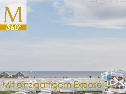 Ferienwohnung mit Meerblick - Wohnung in Hügellage mit Balkon zur Ostsee...