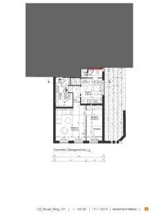 Dachgeschosswohnung in Norden  - Norden