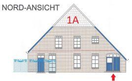 Dachgeschosswohnung in Krummhörn  - Eilsum