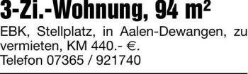 Wohnung in Aalen  - Dewangen