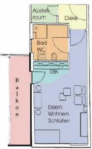 Wohnung in 							Bad Säckingen 							 - Bad Säckingen