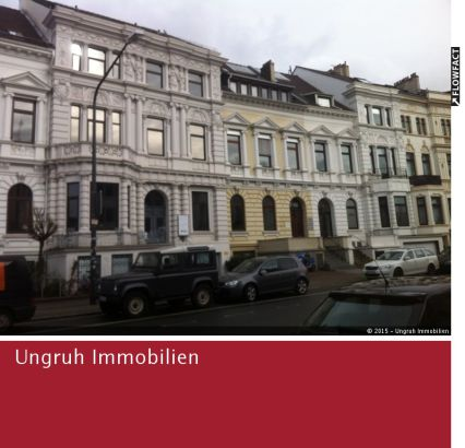 Großes Büro in Altbremer Haus