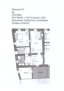 Erdgeschosswohnung in Tittmoning  - Tittmoning