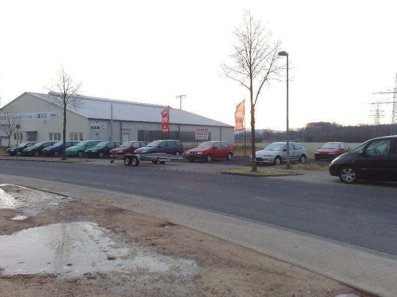 Aschaffenburg Nilkheim Zufahrt M�bel Kempf - Grundst�ck mieten - Bild 1