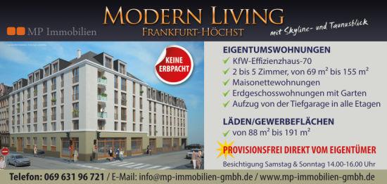Etagenwohnung in Frankfurt am Main  - Höchst