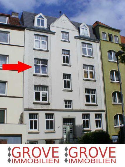 2 Zimmer-Wohnung mit Balkon, 23554 Lübeck / Brolingstraße