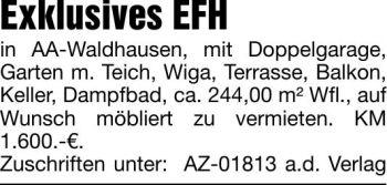 Wohnung in Aalen  - Waldhausen