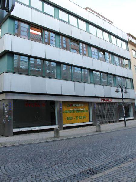 Bremen City Ladenlokal 160 qm ebenerdig 60 qm Tiefgeschoss komplett modenisiert - Gewerbeimmobilie mieten - Bild 1