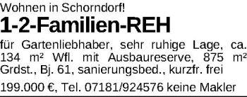 Reihenhaus in Schorndorf  - Buhlbronn