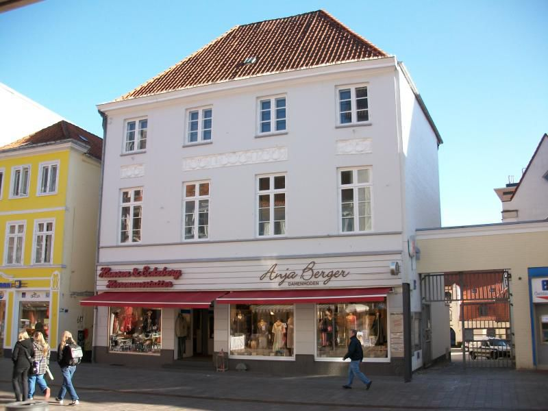 attraktive B�ro Praxisfl�che Innenstadtlage Flensburg - Gewerbeimmobilie mieten - Bild 1