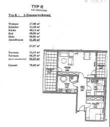 Dachgeschosswohnung in Berlin  - Johannisthal