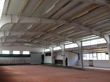 720 m² große Lagerhalle inklusive Sanitäranlage