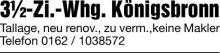 Wohnung in Königsbronn  - Itzelberg