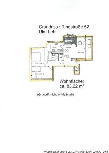 Etagenwohnung in Ulm  - Lehr