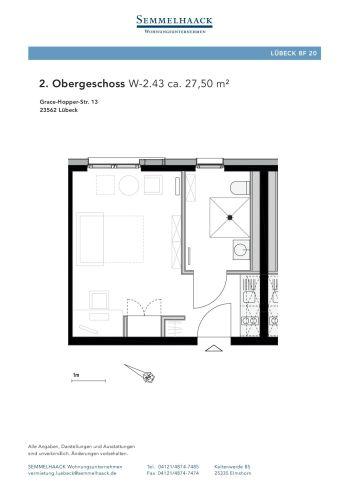 Wohnung in Lübeck  - St. Jürgen