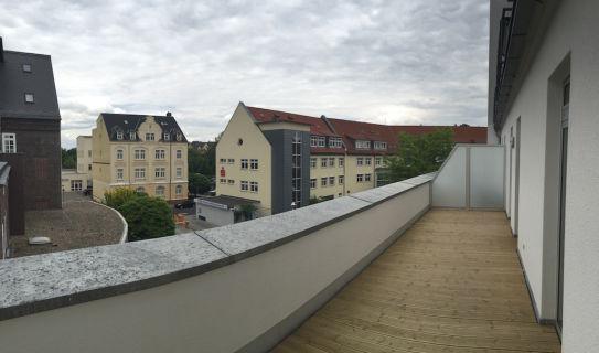 2 Zimmerwohnung direkt im Döbelner Stadtzentrum mit großer Dachterrasse