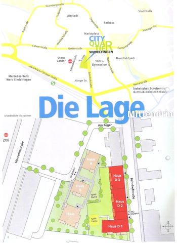 Etagenwohnung in Sindelfingen  - Mitte