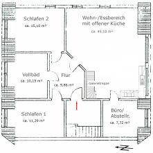 Galeriewohnung in Panten  - Mannhagen