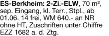 Wohnung in Esslingen  - Berkheim