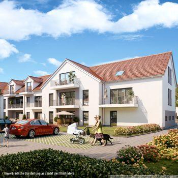 Dachgeschosswohnung in Olching  - Geiselbullach