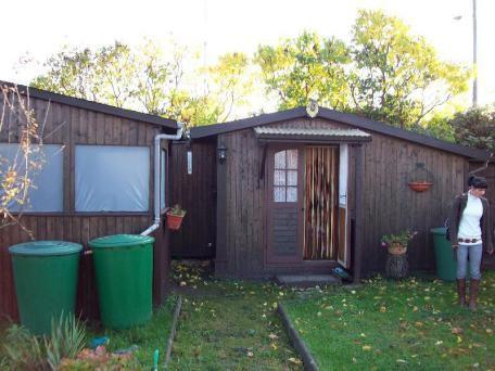 GARTENLAUBE Wohnr�umen Toilette Dusche OHNE GARTENVEREIN - Grundst�ck mieten - Bild 1