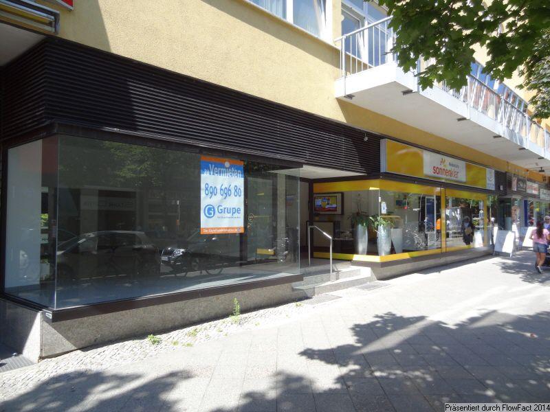 Berlin Wilmersdorf Schmargendorf Hohe Kaufkraft beliebter Handelslage - Gewerbeimmobilie mieten - Bild 1